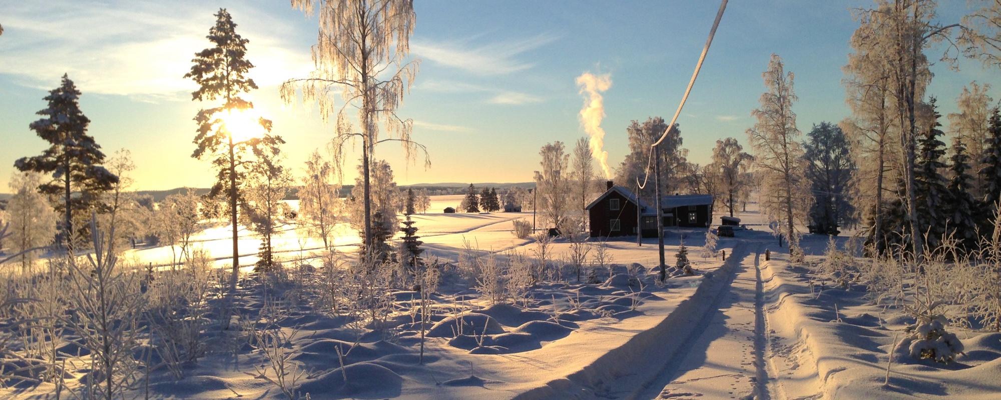 Vinter i Innansjön