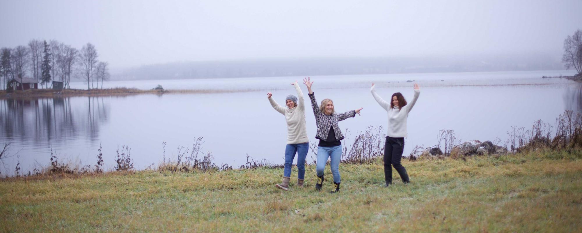 Glädje vid sjön