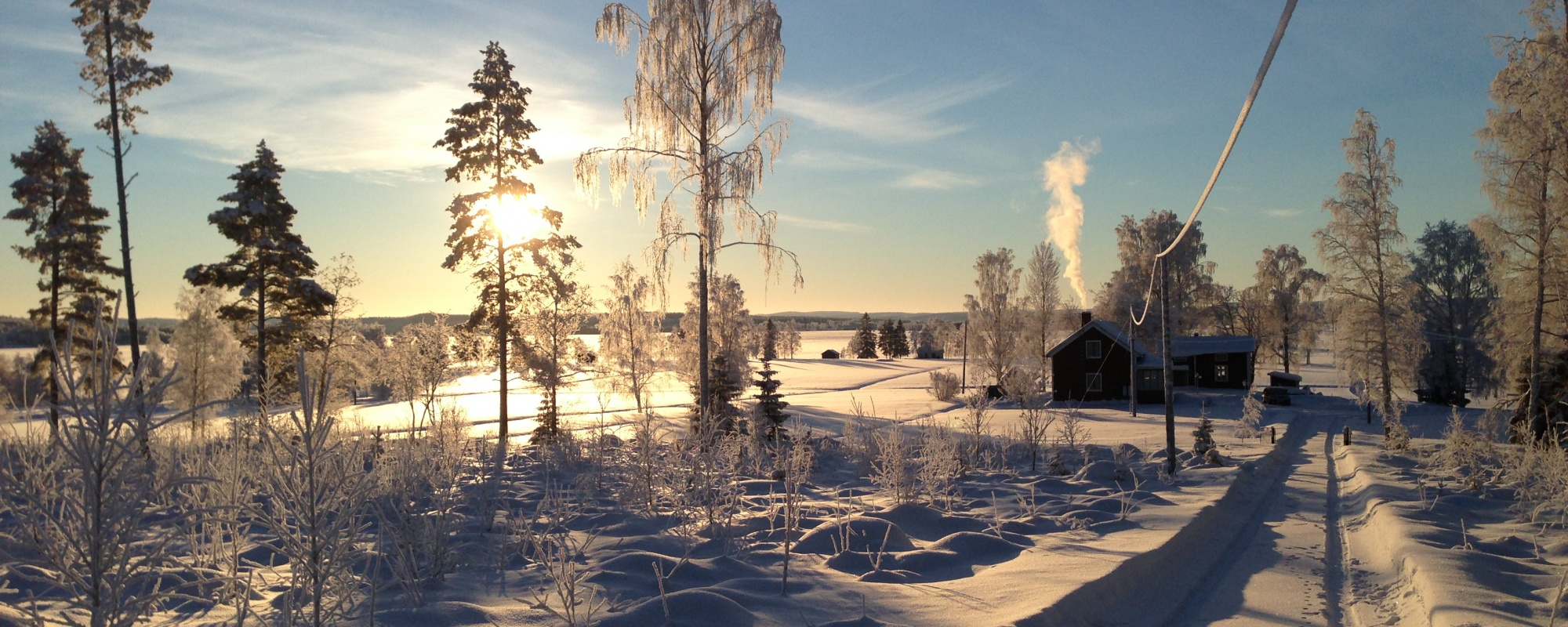 Vinter view from Villa Insight